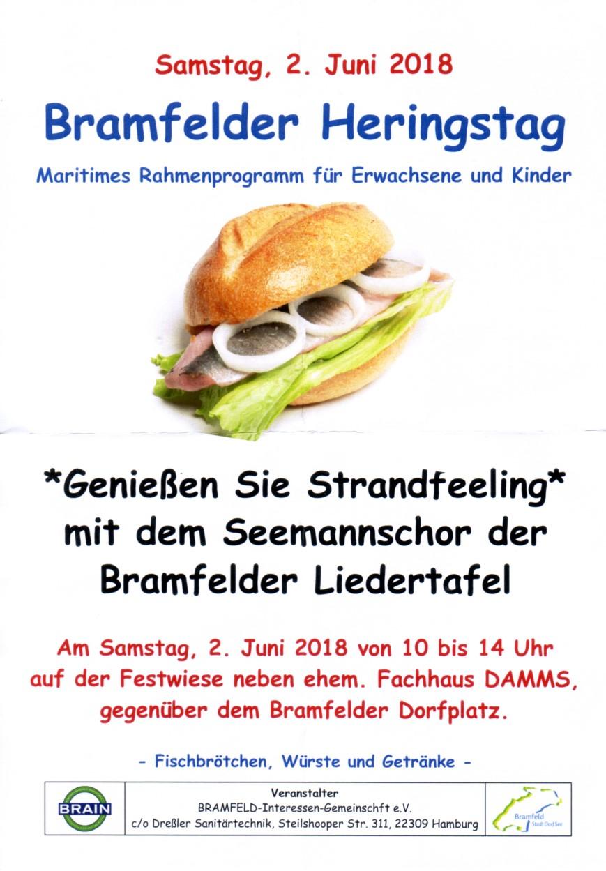 Bramfelder Heringstag @ Festwiese neben ehem. Fachhaus DAMMS | Hamburg | Hamburg | Deutschland