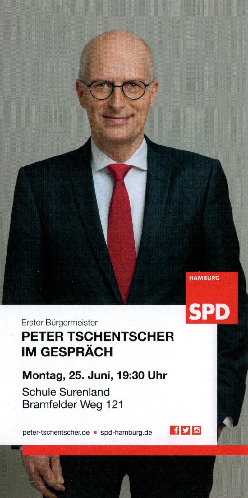 Peter Tschentscher im Gespräch @ Schule Surenland | Hamburg | Hamburg | Deutschland